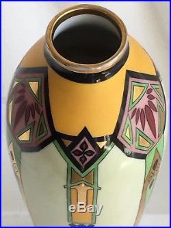 12 Gilded Whites Art Company Chicago Frank Lloyd Wright Arts Crafts Style Vase