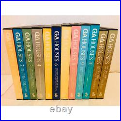 12 SET Frank Lloyd Wright GA HOUSES A. D. A. EDITA Tokyo