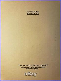 1912 Architectural Styles For Country Houses Frank Lloyd Wright Prairie Style
