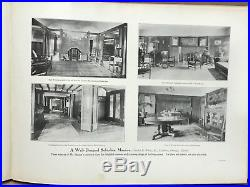 1913 Modern American Homes H V vonHolst 1st Prairie Homes Frank Lloyd Wright