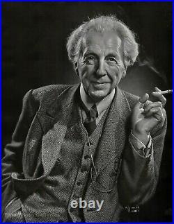 1946 Original FRANK LLOYD WRIGHT Architect By YOUSUF KARSH Photo Art 16x20