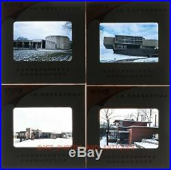 1950searly 1960s Frank Lloyd Wright Homes & Bldgs Lot Of 31 35mm Amateur Slides