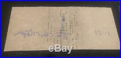 1951 Original Signed Check Frank Lloyd Wright Grady Gammage Farmers Bank