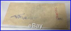 1952 59 Original Signed Check Frank Lloyd Wright To Farmers Bank & Silver Dollar