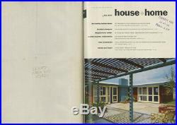 1953 Frank Lloyd Wright HOUSE + HOME 6-Volume SET Burton Schutt Edward Fickett