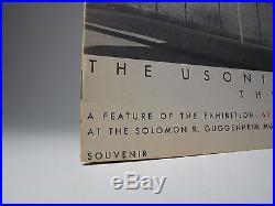 1953 Frank Lloyd Wright Rare'usonian House' Brochure Fine Architecture Prairie