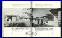 1954 Frank Lloyd Wright THE NATURAL HOUSE Horizon Press USONIAN Architecture 1st