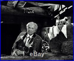1954 Vintage FRANK LLOYD WRIGHT Architecture Design 16x20 Photo Art YOUSUF KARSH