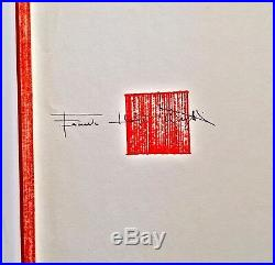 1959 Frank Lloyd Wright Book Drawings For A Living Architecture 1st Ed Book Gift