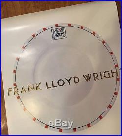 1984 Original Frank Lloyd Wright -Midway Gardens Print Poster -Prairie School