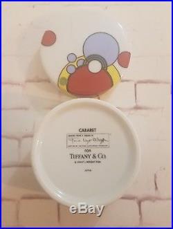 1990 Tiffany & Co. Frank Lloyd Wright Cabaret Trinket Box