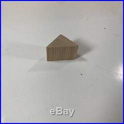 208 Vintage ARCHIBLOCKS Lot Architecture Maple Wood Blocks Frank Lloyd Wright