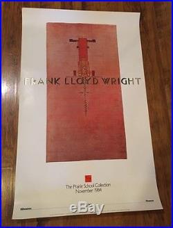 84 Original Frank Lloyd Wright -Modernist Southwest Print Poster Prairie School