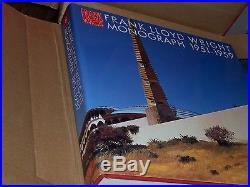 ADA Edita Frank Lloyd Wright Monograph 12 vols Yukio Futagawa & Bruce Pfeiffer