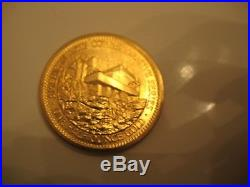 American Commemorative Arts 1982 Frank Lloyd Wright 1/2 Oz Gold Coin No Res