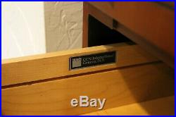 Arts & Crafts Cherry Office Sideboard Credenza Cabinet Frank Lloyd Wright Style