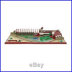 Atom Brick Building Set, Frank Lloyd Wright Taliesin West 1763 Piece Model