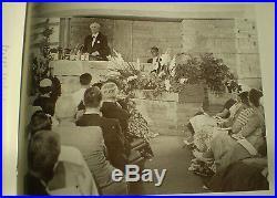 Authentic MID Century Frank Lloyd Wright Unitarian Church Bench 1951 Very Rare
