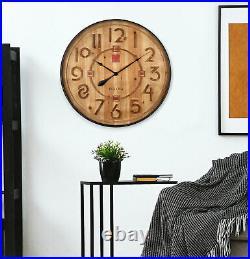 BRAND NEW Bulova Frank Lloyd Wright Taliesin Large Wall Clock C4803