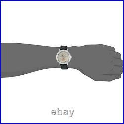 BRAND NEW Bulova Men's Frank Lloyd Wright Black Leather Band Watch 96A164