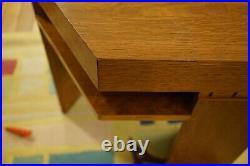 Bexley Heath Frank Lloyd Wright Collection Hexagon End Table -Arts Crafts Modern
