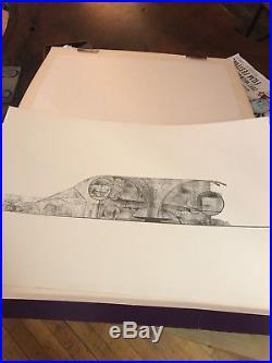 Bruce Goff Frank Lloyd Wright Student Architectural Print Portfolio