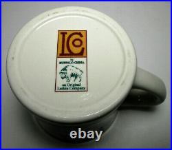 Buffalo China Larkin Company Mug Restaurant Ware Frank Lloyd Wright Arts Crafts