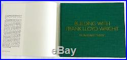 Building With Frank Lloyd Wright by Herbert Jacobs Hardcover 1986 SIU press