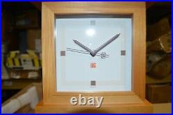 Bulov Frank LLoyd wright clock, Bogk house wall clock