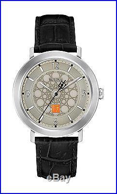 Bulova 96A164 Mens Frank Lloyd Wright Leather Strap Watch