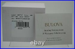 Bulova 96A223 Frank Lloyd Wright Inspired Analog Watch