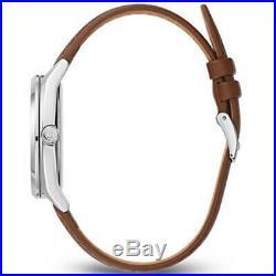 Bulova 96C138 Men's Frank Lloyd Wright Silver Tone Dial Strap Watch