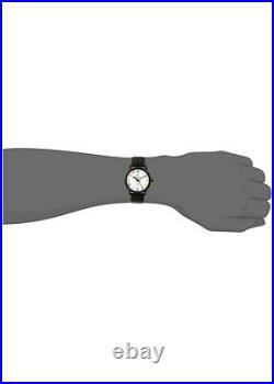 Bulova 98A103 Frank Lloyd Wright Reloj de hombre con esfera blanca