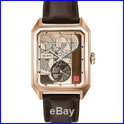 Bulova Frank Lloyd Wright Limited Edition 48.00mm. 35.00mm. 10.50mm