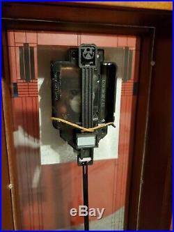 Bulova Frank Lloyd Wright Willits Mantel Clock B1839