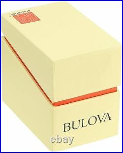 Bulova Men's Frank Lloyd Wright Black Leather Band Watch 96A164