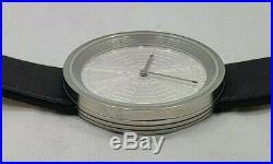 Bulova Men's Stainless Steel Frank Lloyd Wright Guggenheim Museum Watch (T1613)