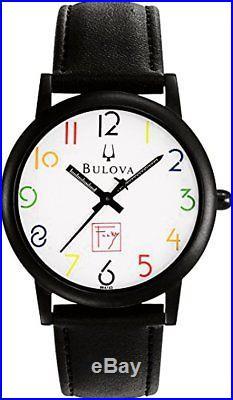 Bulova Mens Frank Lloyd Wright White Dial Watch