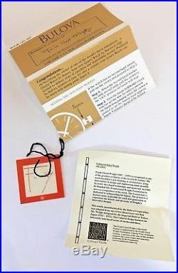 Bulova Mens Watch, Frank Lloyd Wright, Caberet Design, Imperial Hotel