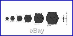 Bulova Women's 96L63 Frank Lloyd Wright Willits Leather Strap Watch