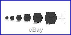 Bulova Womens Frank Lloyd Wright Willits Leather Strap Watch