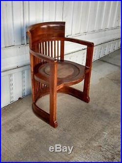 Chair, original Frank Lloyd Wright design, Taliesin. Dark rosewood