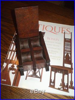 Charles Rohlfs Contemporary Of Frank Lloyd Wright Arts & Crafts