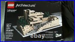Complete Lego Architecture Fallingwater Set (21005)