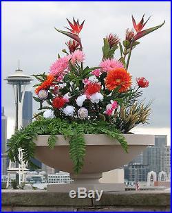 DANA HOUSE Outdoor Vase LANDSCAPE PLANTER 10yr Warranty FRANK LLOYD WRIGHT
