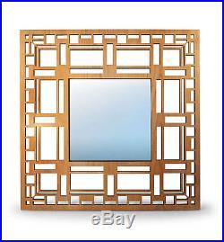 DD MARTIN House Design WALL MIRROR 23.5 Frank Lloyd Wright CHERRY New
