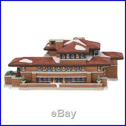 Dept 56 CIC 2018 Frank Lloyd Wright Robie House #6000570 NIB