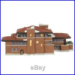 Dept 56 Christmas In City Frank Lloyd Wright Robie House 6000570 Lights Up NIB