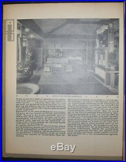 El Lissitzky Wijdeveld Wendingen No. 11 1921 Frank Lloyd Wright