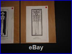 FRANK LLOYD WRIGHT ART SHADOW BOX METAL WALL ART CUT OUT Set of 3